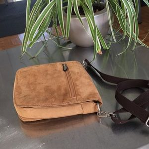Travelon/ Ultra Suede / Crossbody/ Bag